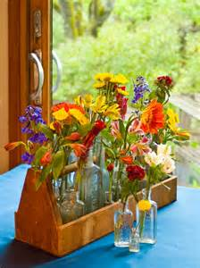 Unusual Glass Vases Decorate With Flea Market Finds Home Decor Accessories