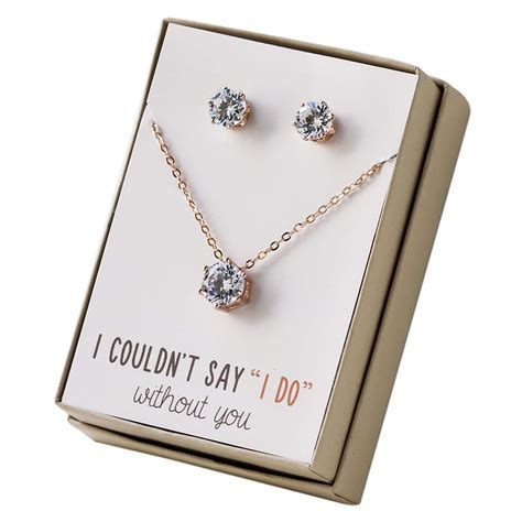 Top 10 Best Bridesmaid Jewelry Gift Sets   Heavy.com