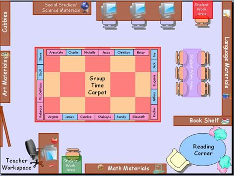 classroom layout for grade r 28 best images about seating arrangement ideas on pinterest