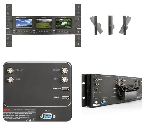 Monitor Lcd Hdmi m 1051h 5 inchx3 3gsdi hdmi lcd monitor