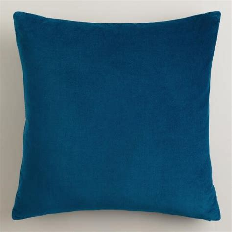 Velvet Throw Pillows Blue Velvet Throw Pillows World Market