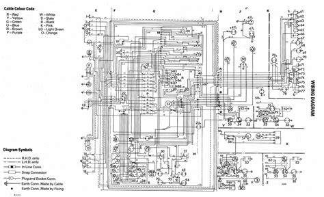 electrical wiring diagram of volkswagen golf mk1 projekt