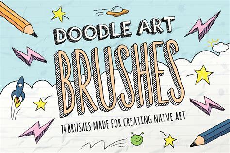 doodle brushes doodle brushes brushes on creative market