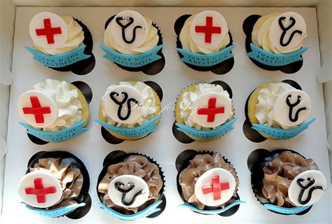 Doctor Themed Cupcakes Doctor Theme Cupcakes Explore Icing For Joy S Photos On