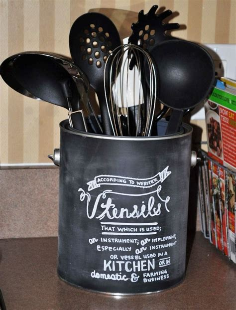 diy kitchen utensil holder www pixshark com images