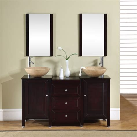 56inch calista vanity travertine vessel vanity