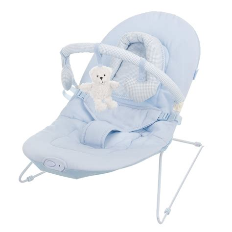 Vibrating Chair For Newborn by Obaby B Is For Vibrating Baby Bouncer Chair In Blue
