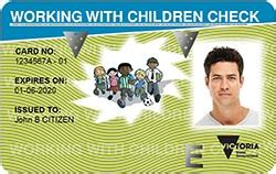 Background Check For Working With Children Child Safety Glen Eira Fc