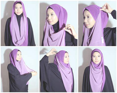 tutorial hijab pasmina jenahara lebih fashionable dengan tutorial hijab ala jenahara