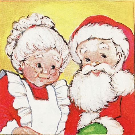 mr mrs claus the happy couple pinterest