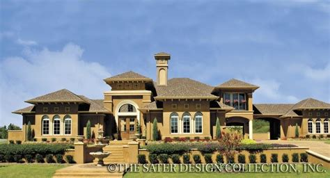 pin by sater design collection on mediterranean house la reina home plan cocoon pinterest
