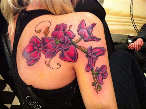 orchid tattoo orchid tattoos3d tattoos