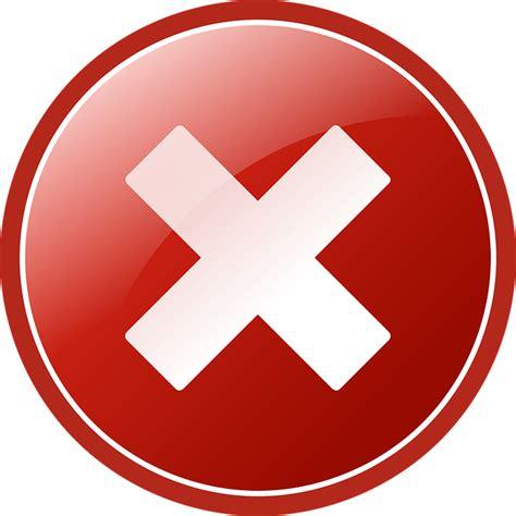 Free Vector Graphic Abort Delete Cancel Icon Cross Free Vector Graphic Delete Remove Cross Cancel
