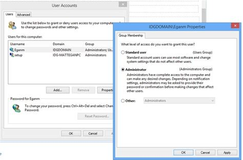 user s administrator s guide to theformtool pro doxsera and doxsera db books create user account in windows 8 and windows 7 make user