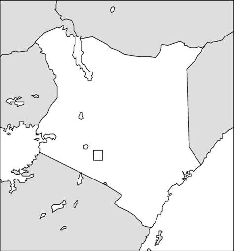 printable map kenya abcteach printable worksheet kenya blackline map