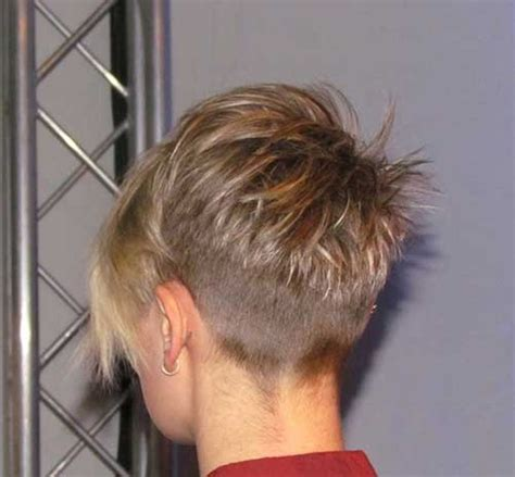 hair styles for back of cool back view undercut pixie haircut hairstyle ideas 18