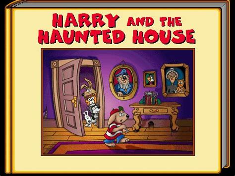 harry and the haunted house harry and the haunted house download 1994 educational game