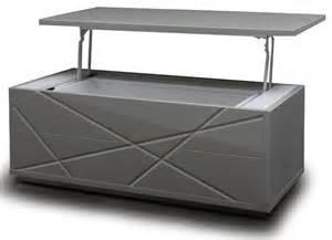 modern gray lift top coffee table with storage kaga