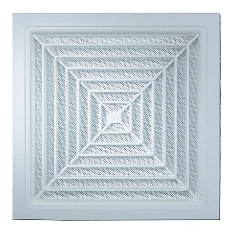 Ac Ceiling haron 300 x 300mm white square ceiling vent bunnings warehouse