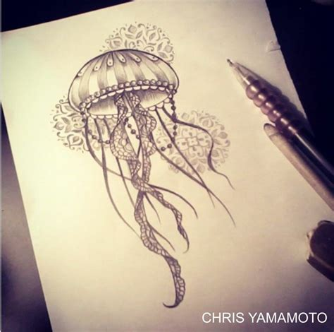 17 nice jellyfish tattoo designs