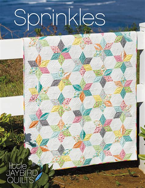 new jaybird quilts pattern sprinkles baby quilt
