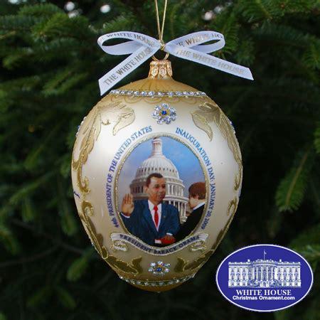 1980 white house christmas ornament 2009 barack obama administration ornament
