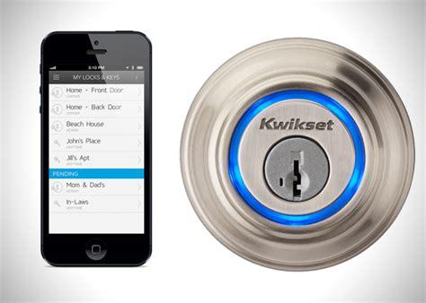 Iphone Door Lock by Kevo Iphone Operated Door Lock Hiconsumption