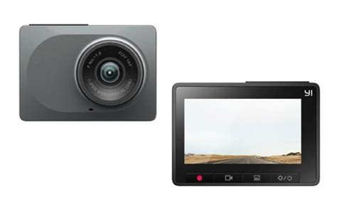 one (aed 289) or two (aed 549) yi smart dash cameras with