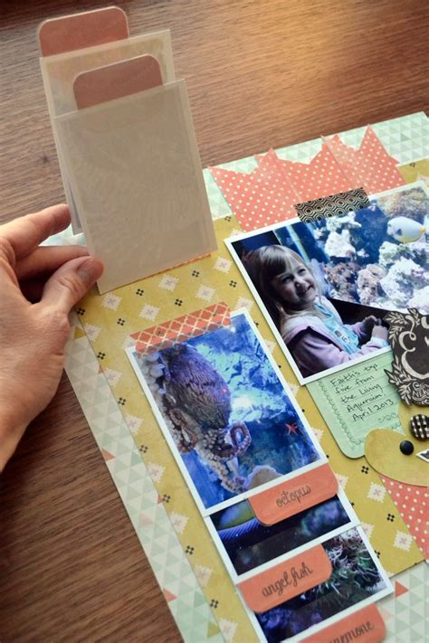 Tab Dispensers For Your Scrapbook Layouts by Best 25 Photo Album Scrapbooking Ideas On