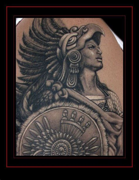 aztec warrior tattoo aztec warrior by laz barath tattoos by laz