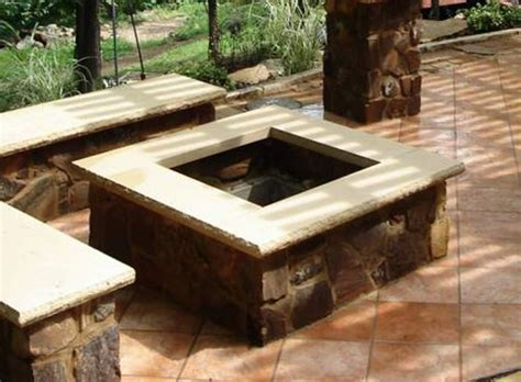 how to build a wood burning pit square wood burning pit
