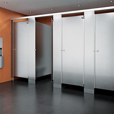 stainless steel bathroom partitions stainless steel asi global partitions