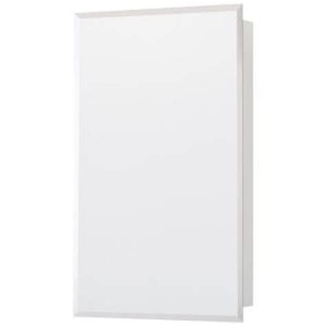 glacier bay 16 in. x 26 in. recessed or surface mount