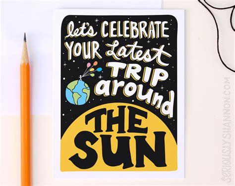 Trip Birthday Card