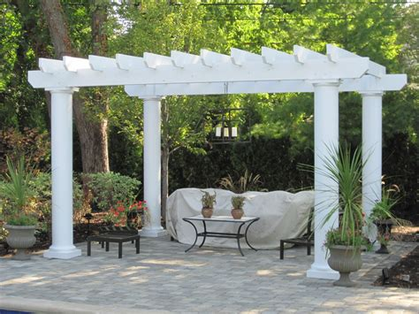 backyard america pergola kits columbus decks porches