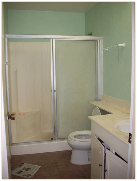 Stand Up Shower Glass Door Stand Up Shower Size Of All In One Shower Enclosures Shower Stalls With Seat Lowes Large