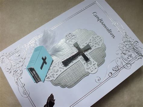 Handmade Confirmation Cards - 96 best images about cards confirmation on