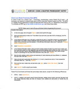 Template Master by Master Promissory Note 8 Free Word Excel Pdf Format