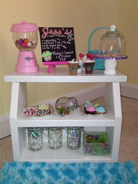 diy doll crafts 35 best diy sweet shop bakery for american doll