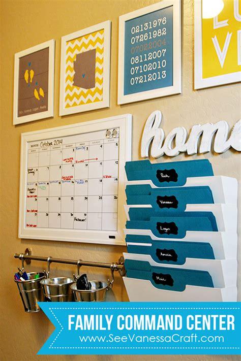 Kitchen Cabinet Bins 20 command center ideas to inspire unoriginal mom