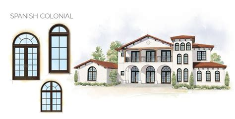 colonial style windows spanish colonial home style window door overview