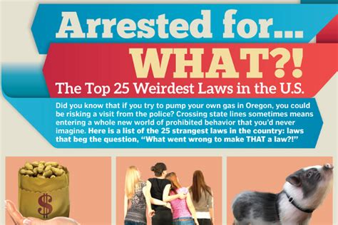 Top 25 Mba In United States by 25 Weirdest Laws In The United States Brandongaille