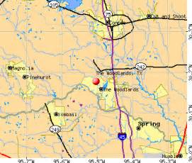 The Woodlands Zip Code Map by Woodlands Texas Zip Code Map Quotes