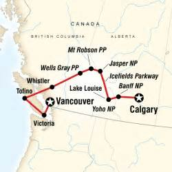 map of rockies canada national parks of the canadian rockies westbound in