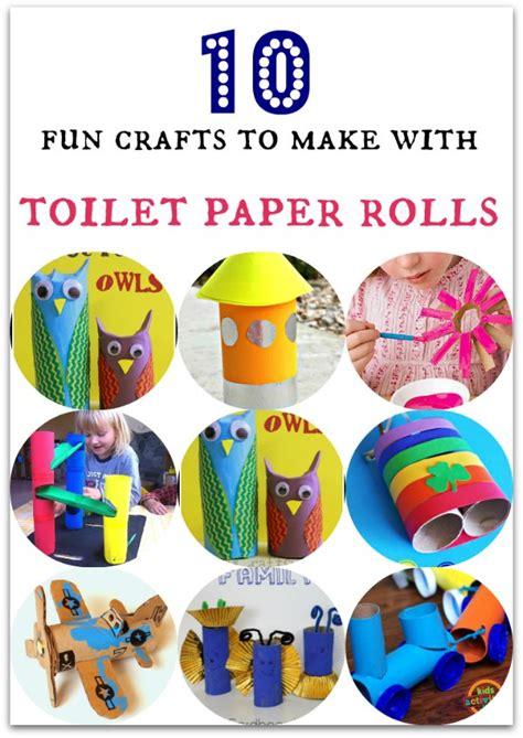 What Can I Make With Toilet Paper Rolls - 10 crafts to make with toilet paper rolls in the