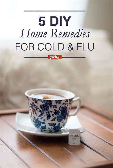 5 diy home remedies for the cold flu season