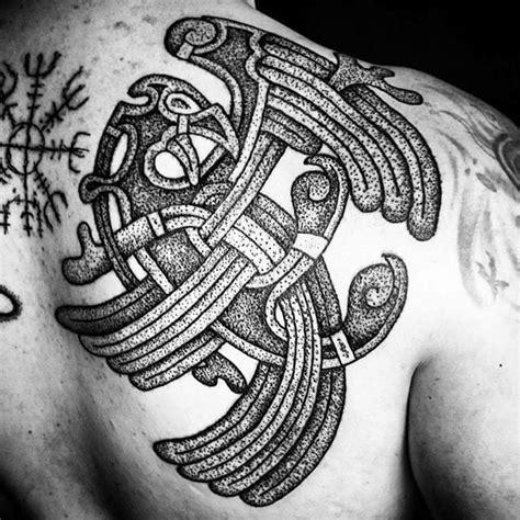 geometric viking tattoo 16 norse tattoos for your inner viking tattoodo