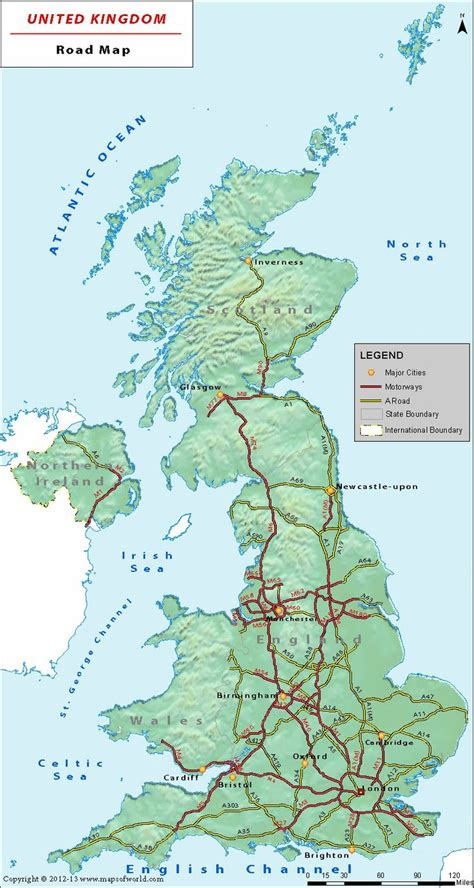 free printable uk road maps 1000 images about british motorways on pinterest sign