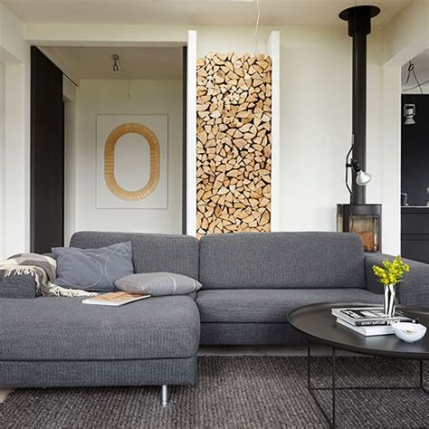 l shaped sofa in living room