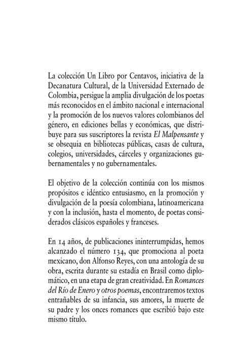 Calaméo - ROMANCES DEL RÍO DE ENERO Y OTROS POEMAS